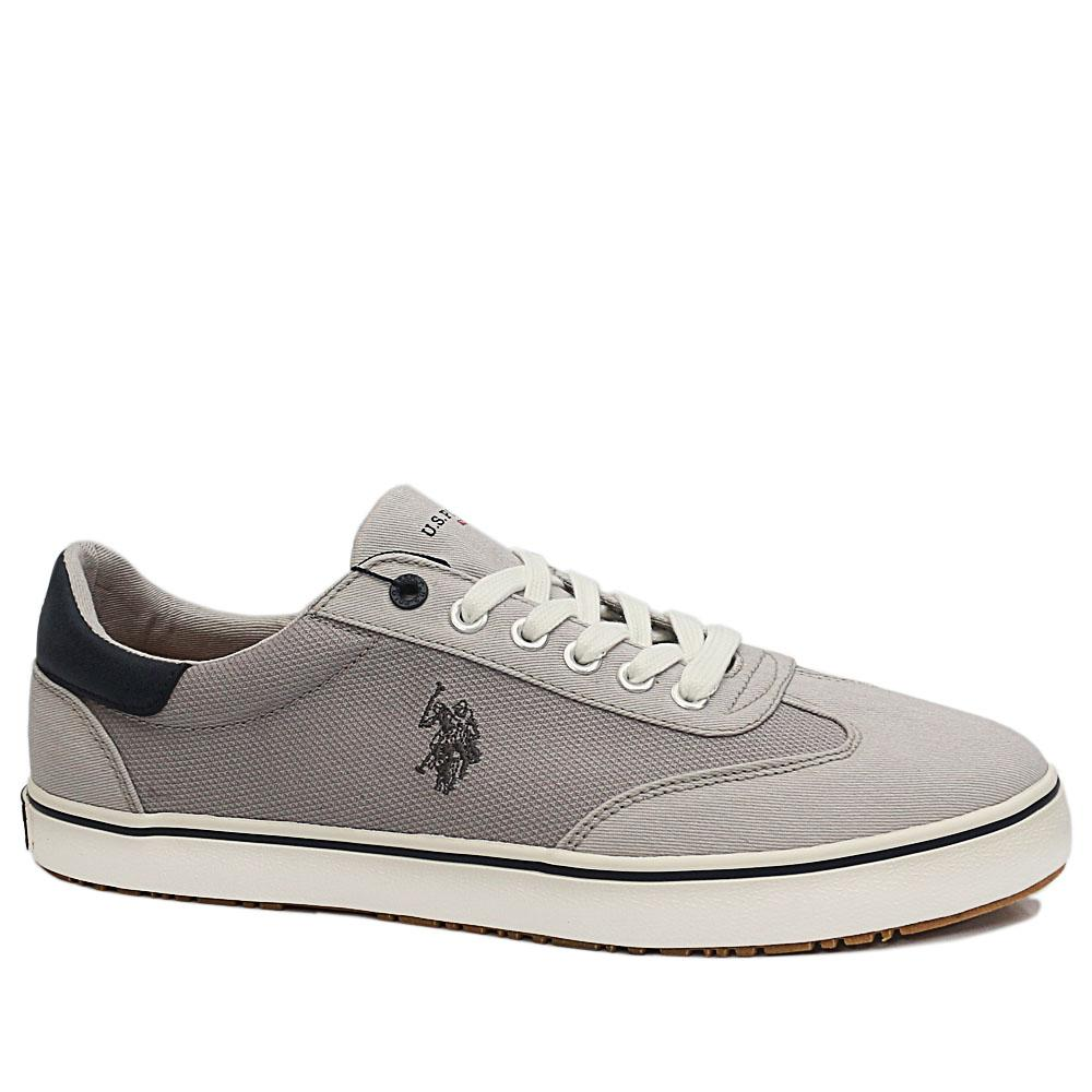 USSPA Gray Ted Fabric Sneakers