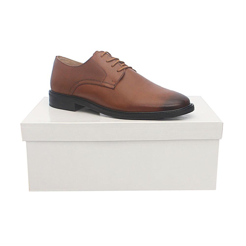 Kurt Geiger Tamworth Brown Premium Leather Shoe Sz 43