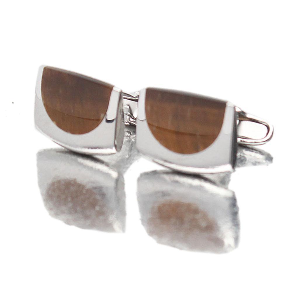 Silver Men Cufflinks
