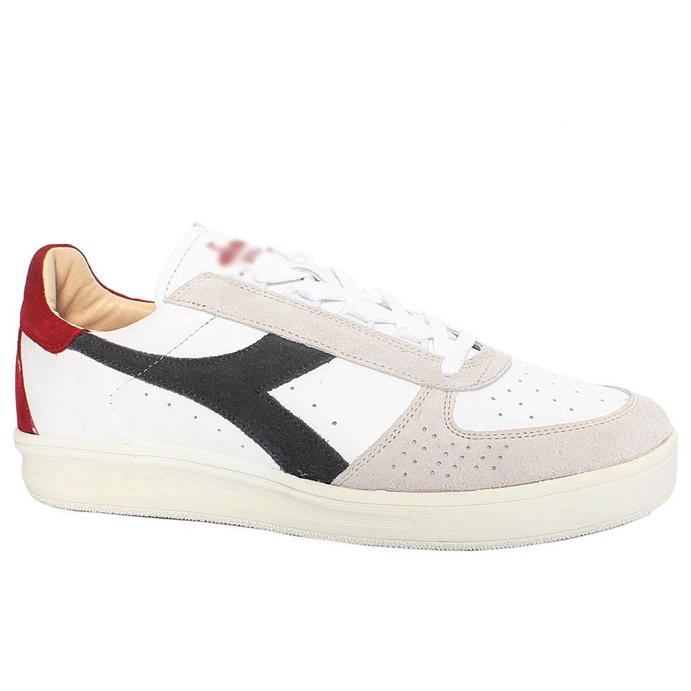 White Elite Suede Leather Breathable Sneakers