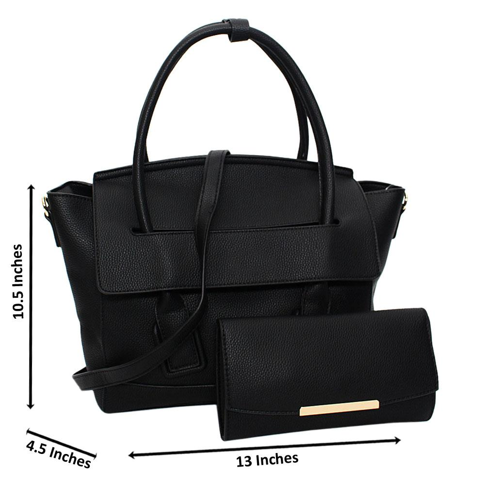 Black-Eliena-Leather-Medium-Tote-Handbag