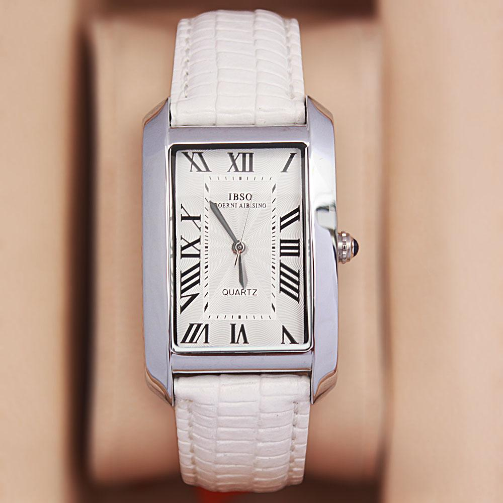 Camil Love White Leather Classic Ladies Watch