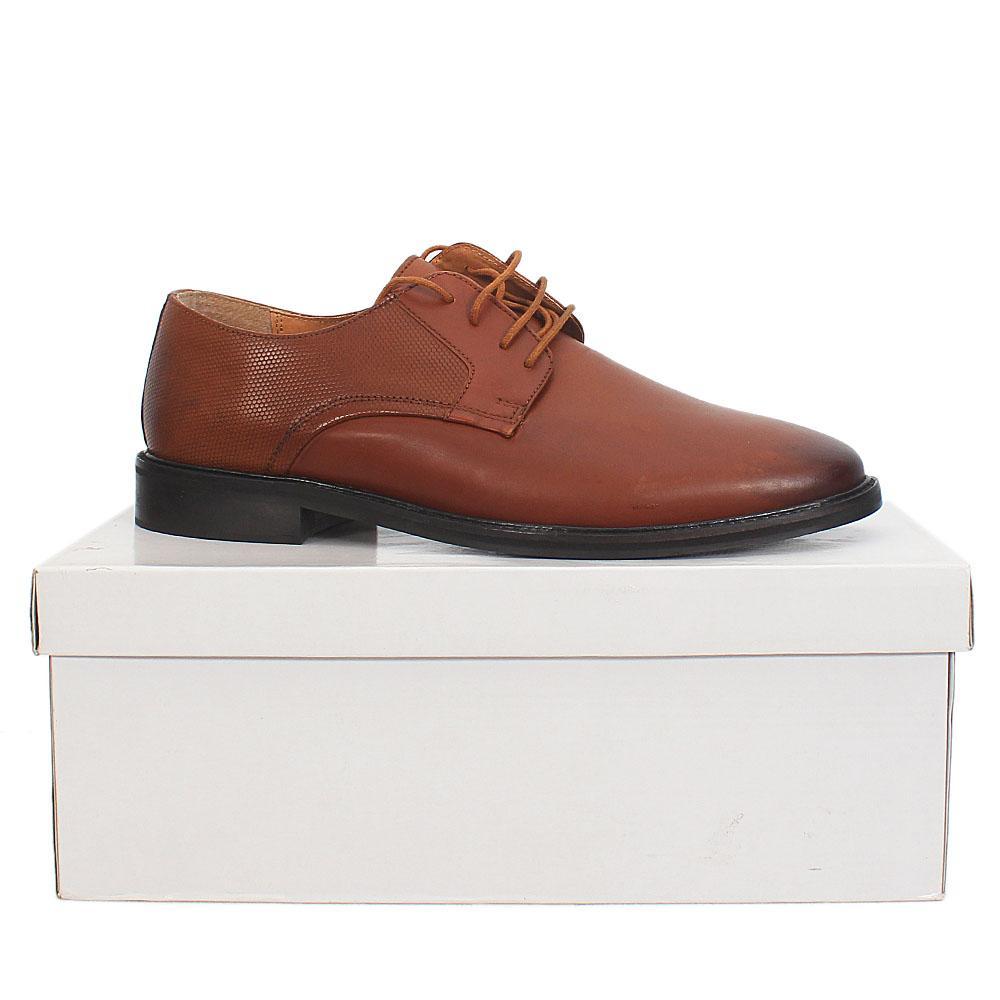 Kurt Geiger Tamworth Brown Premium Leather Shoe Sz 46