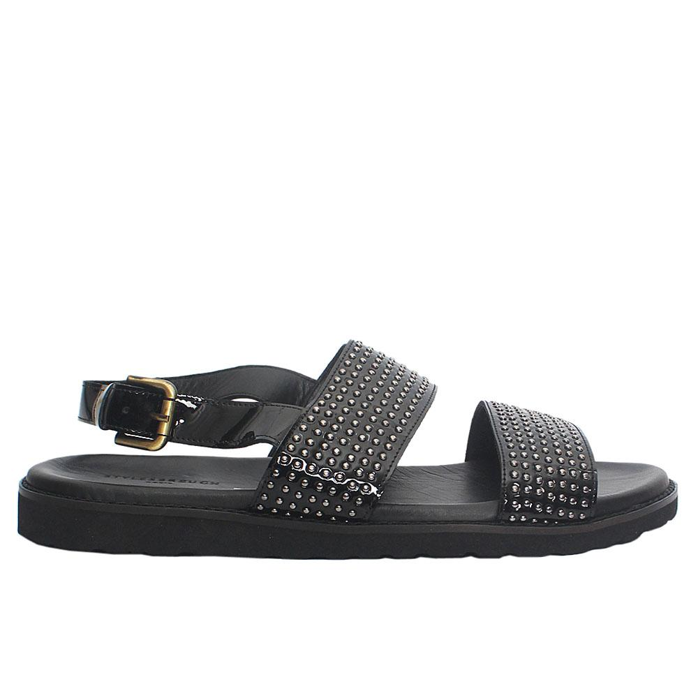Black-Studded-Italian-Leather-Men-Sandals