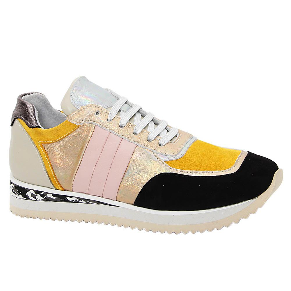 Multicolor Heidi Tuscany Leather Ladies Sneakers