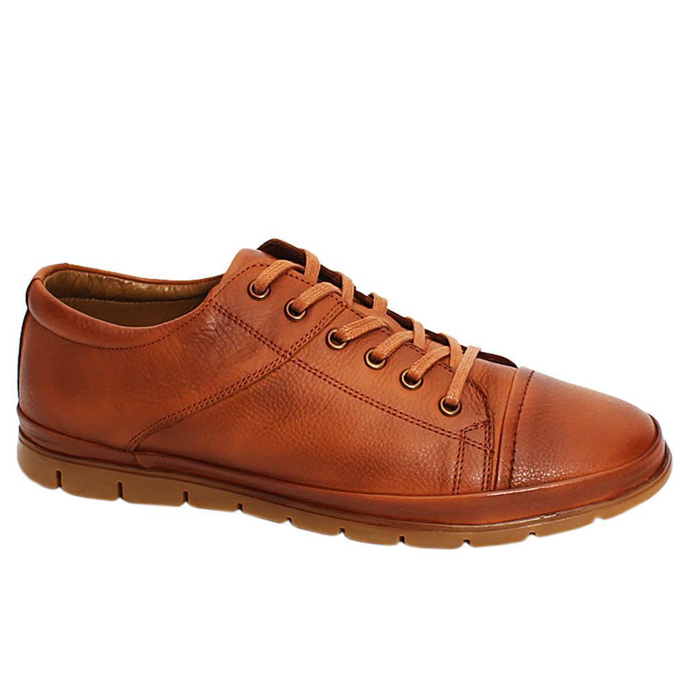 Brown Bridger Leather Men Sneakers