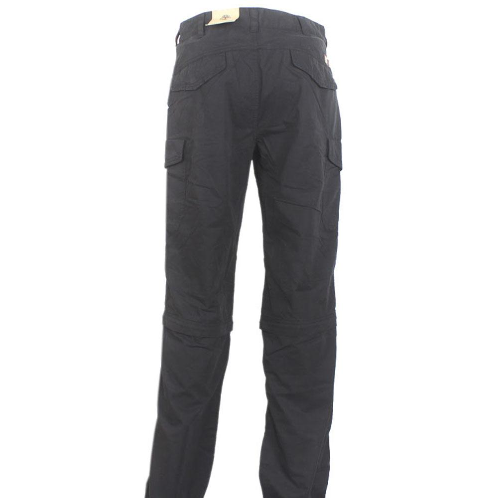 Black Cotton Men Trouser-W 32, L 45 Inch