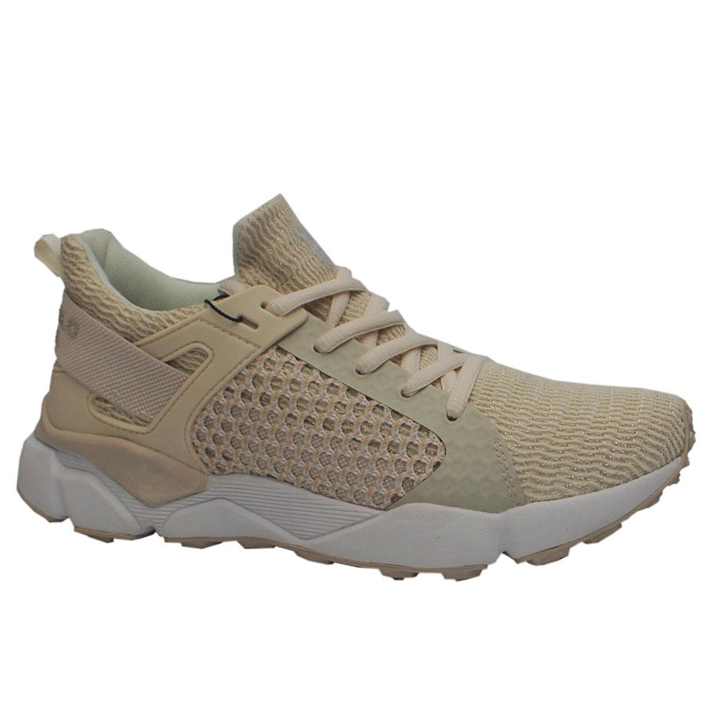 Sz 40 USSPA Cream Breathable Sneakers