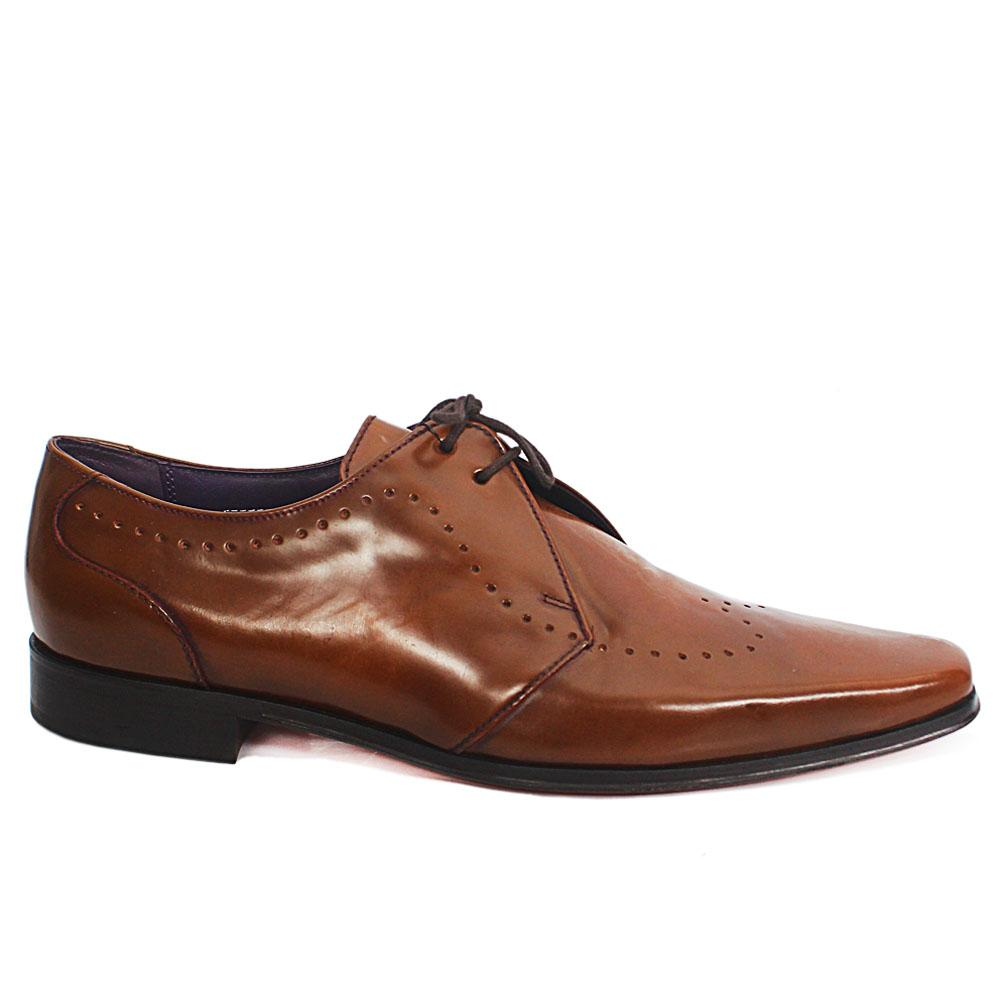 M&S Autograph Brown Leather Men Shoe