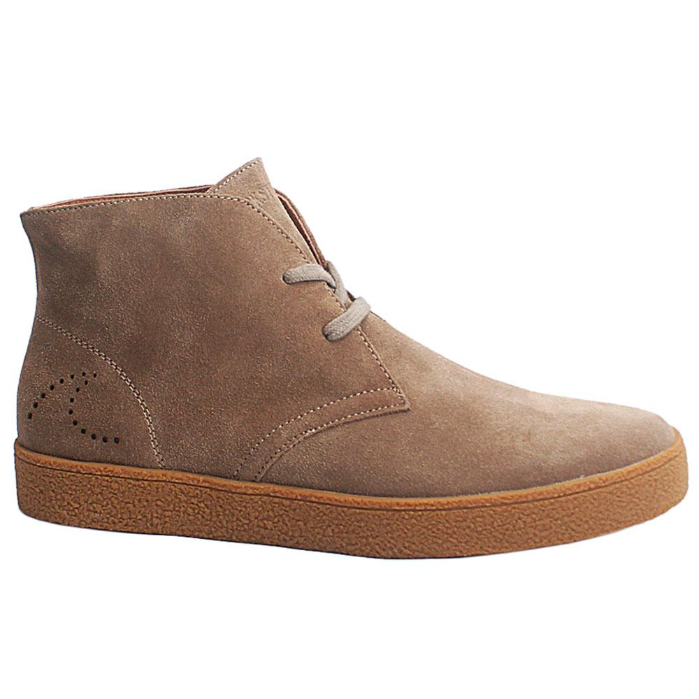 Khaki New Salinas Suede Leather Men Ankle Boot