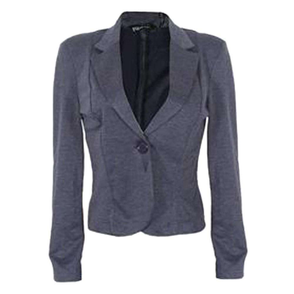 Queen Navy Blue Ladies L Sleeve Jacket  Uk 8