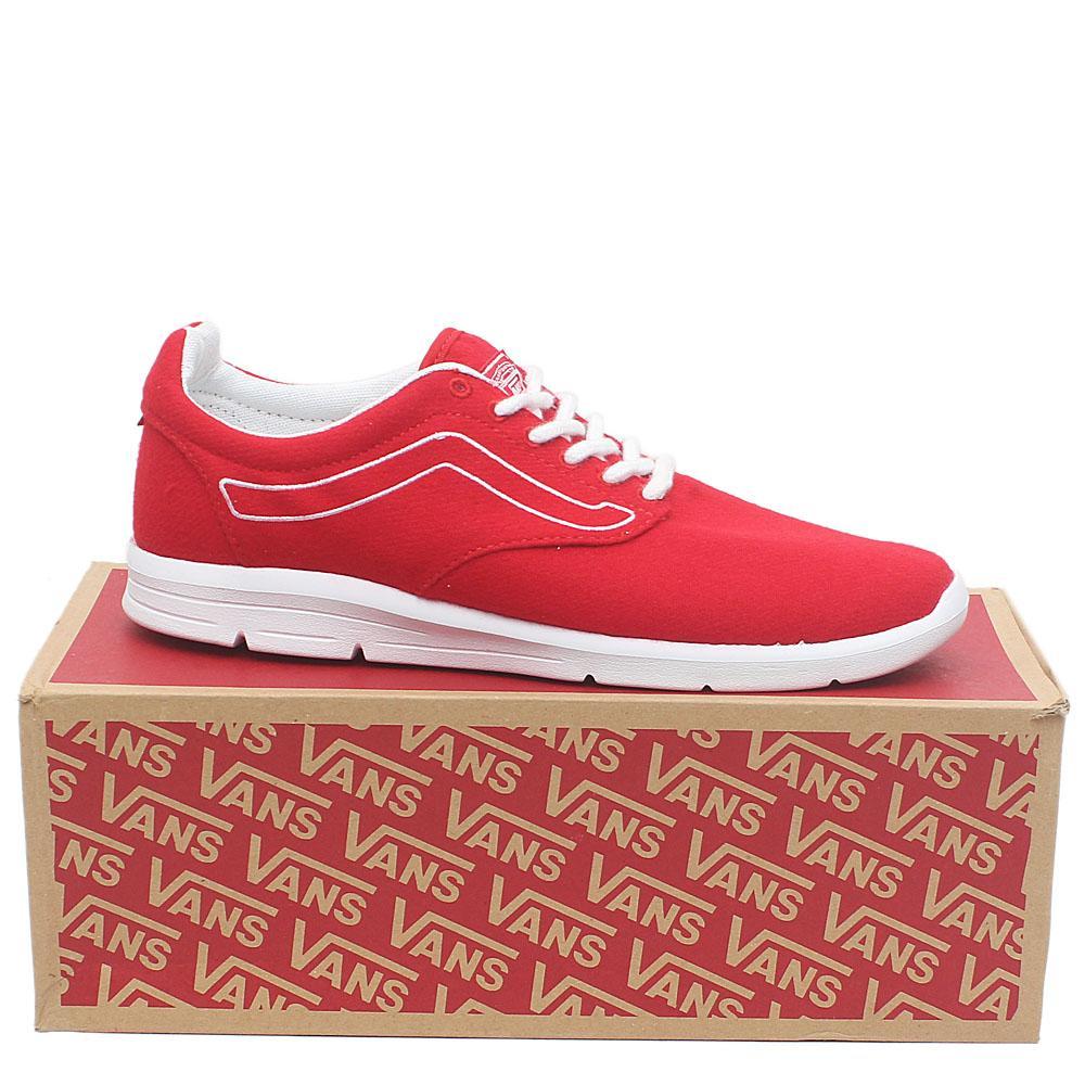Sz 46 Vans Old Skool Ultra Cush Red Fabric Men Sneakers