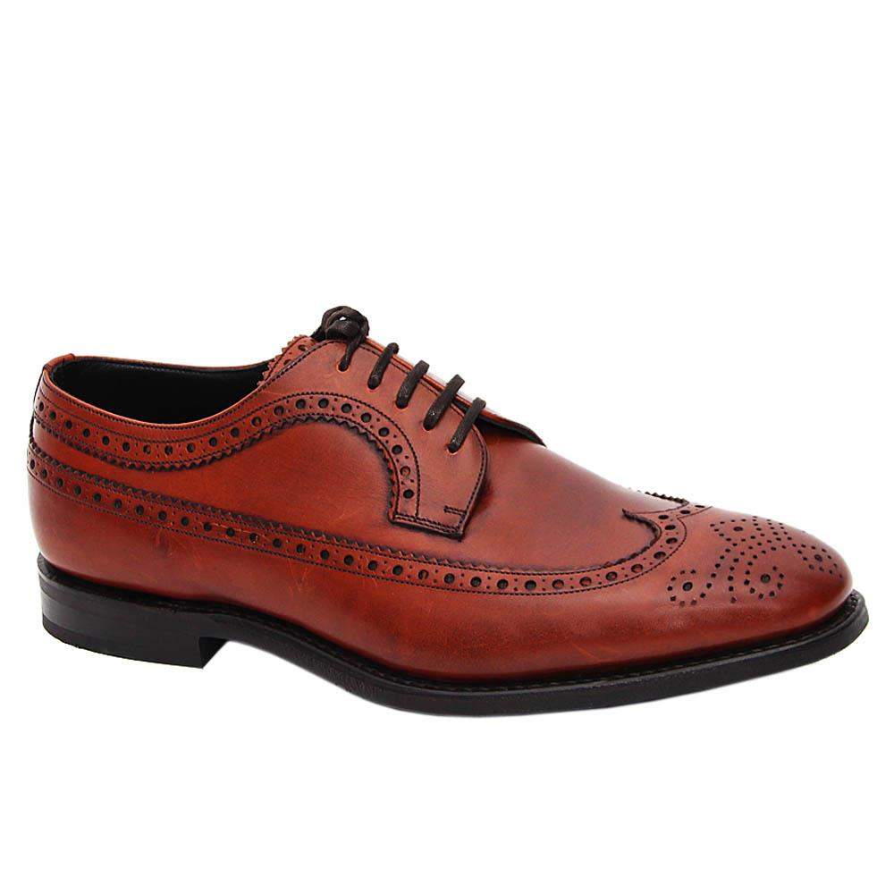 Brown Nathan Leather Derby Brogue