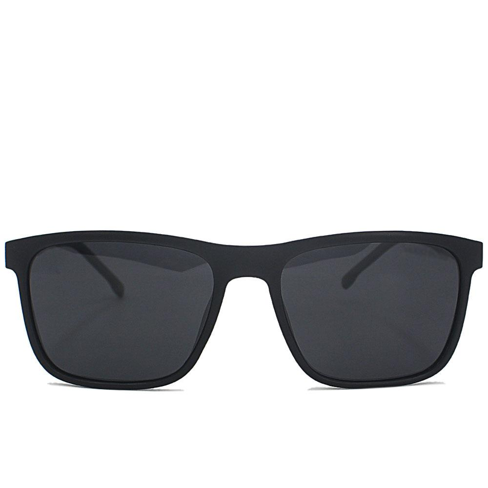 Black Straight FWayfarer Sunglasses