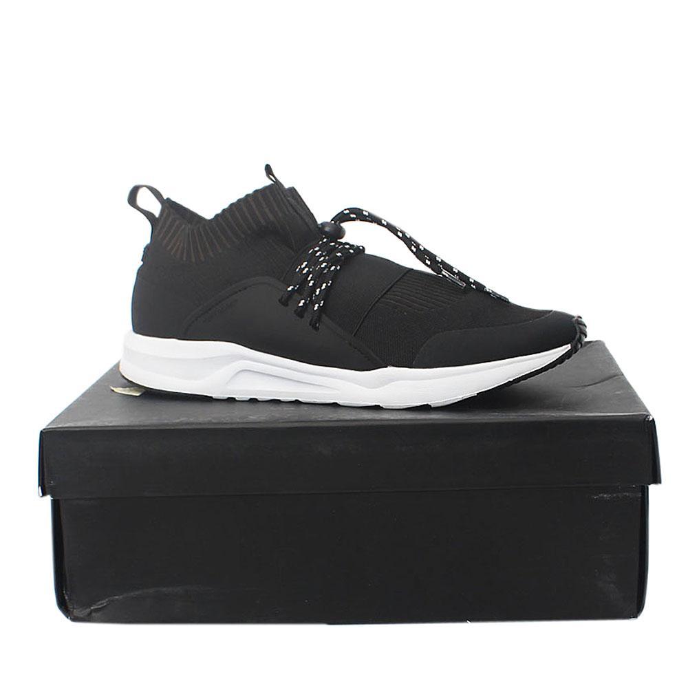 Kurt-Geiger-Soleus-Black-Fabric-Sneakers