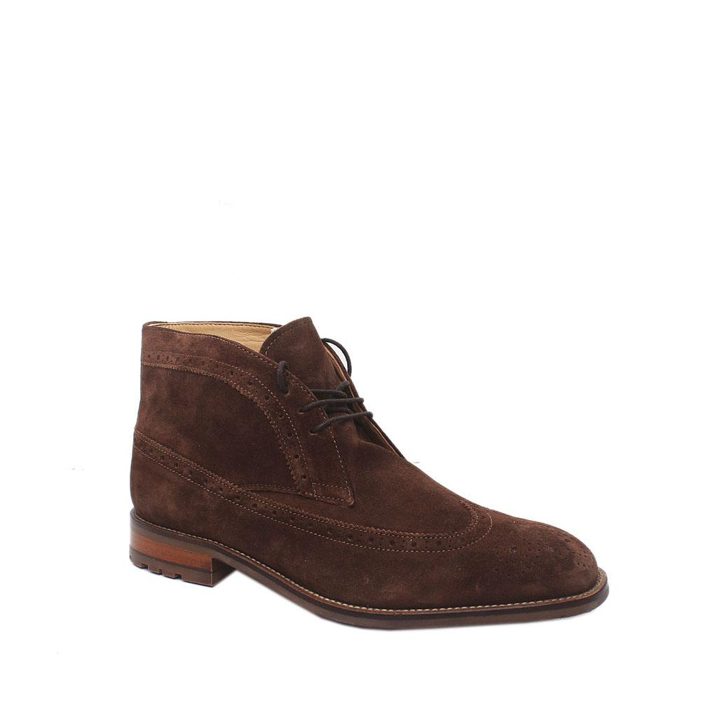 M & S Brown Suede Leather Shoe Sz 44.5