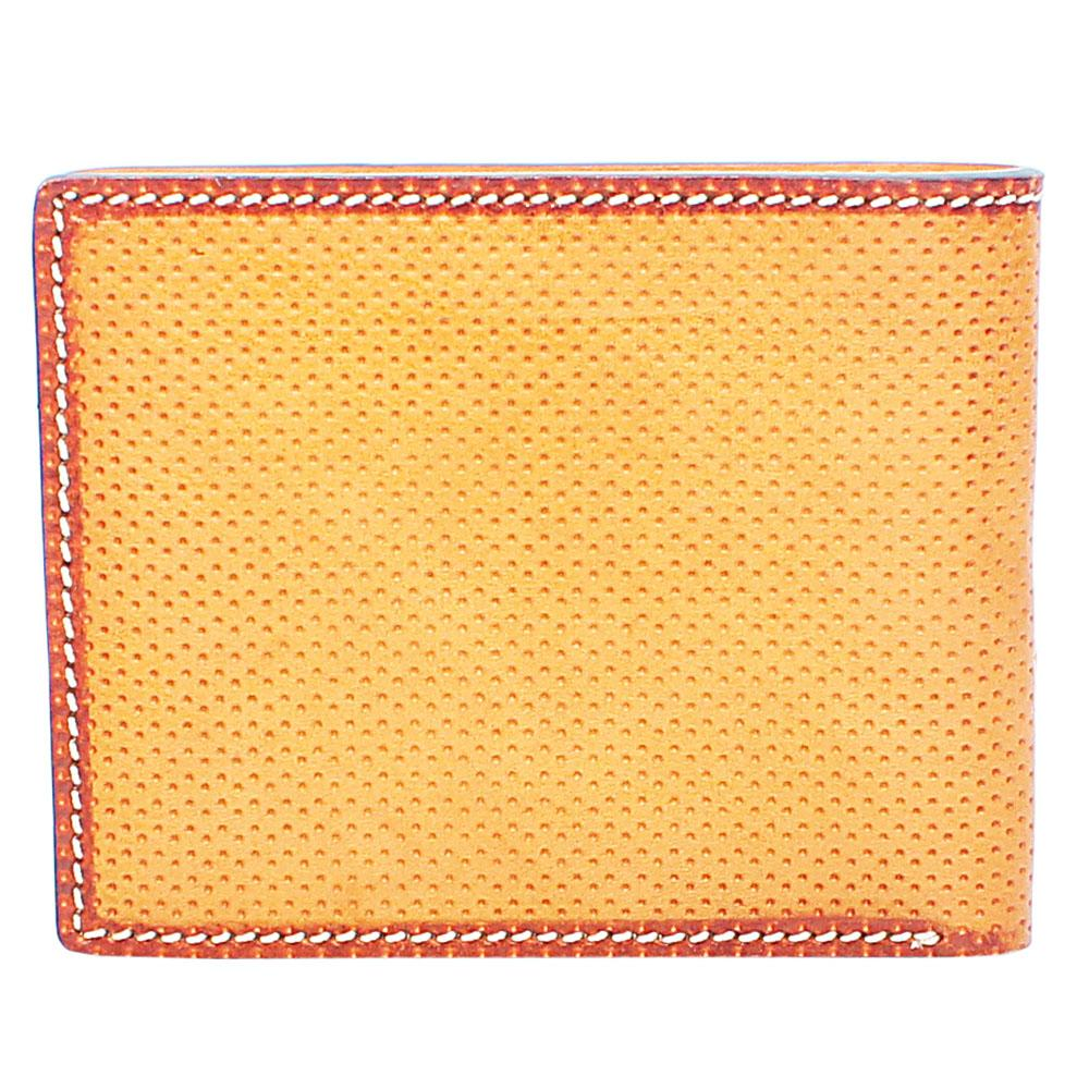 Carton Brown Dotted Leather Wallet