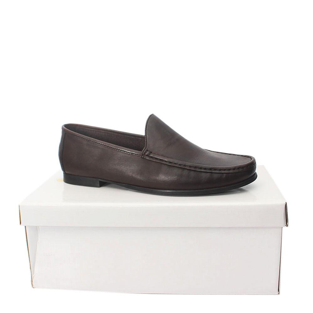 Kurt Geiger Ramsgate Coffee Leather Men Shoes