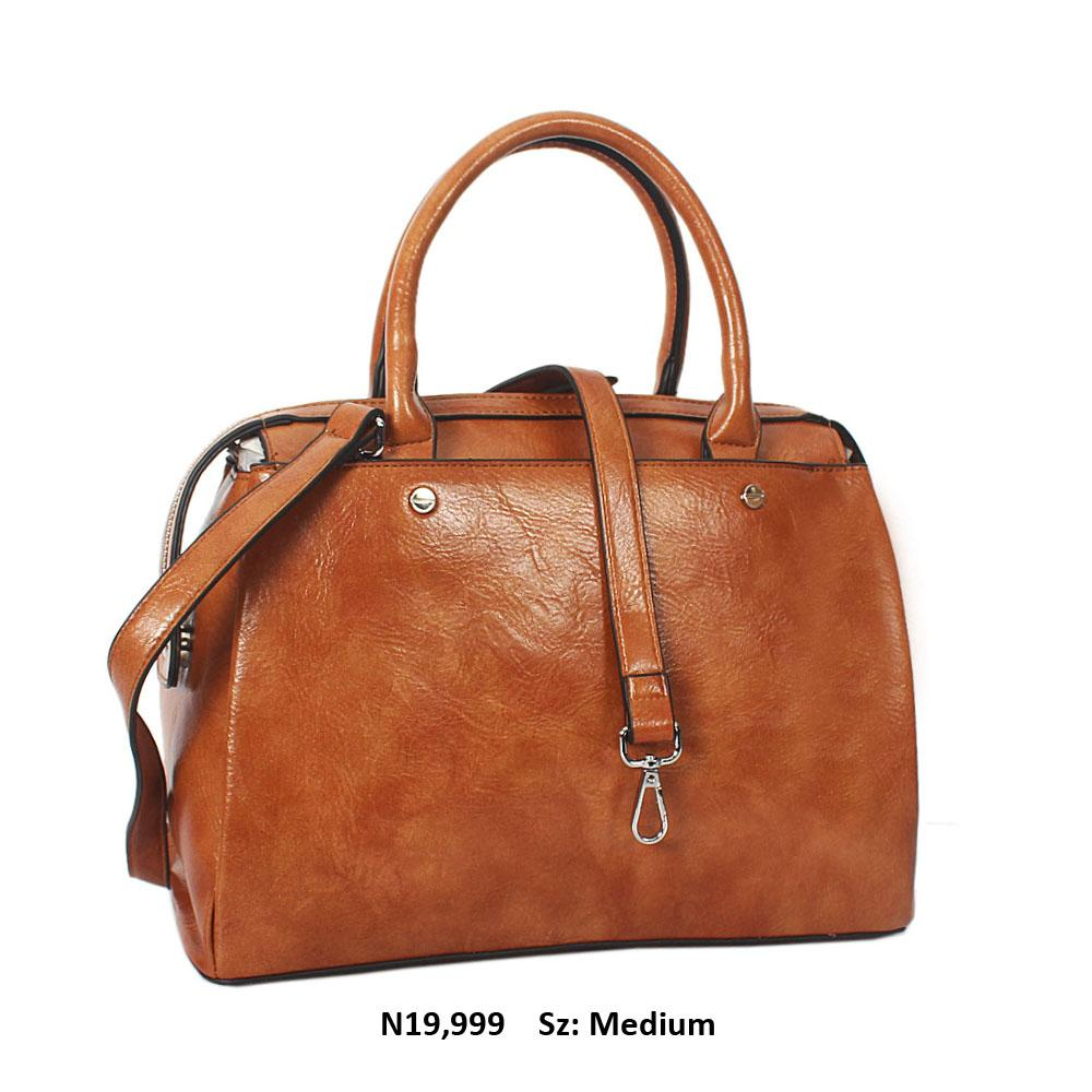 Brown Bertha Leather Tote Handbag
