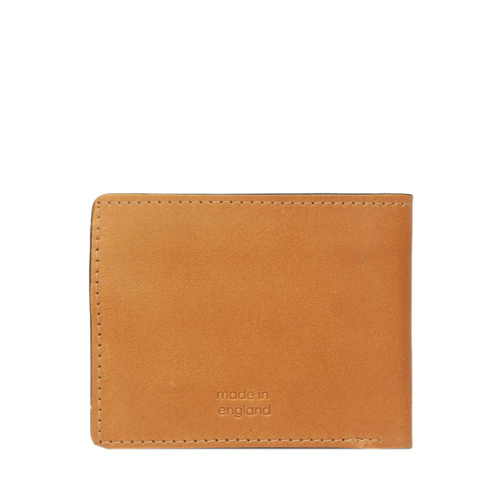 M & S Camel Brown Leather Men Wallet