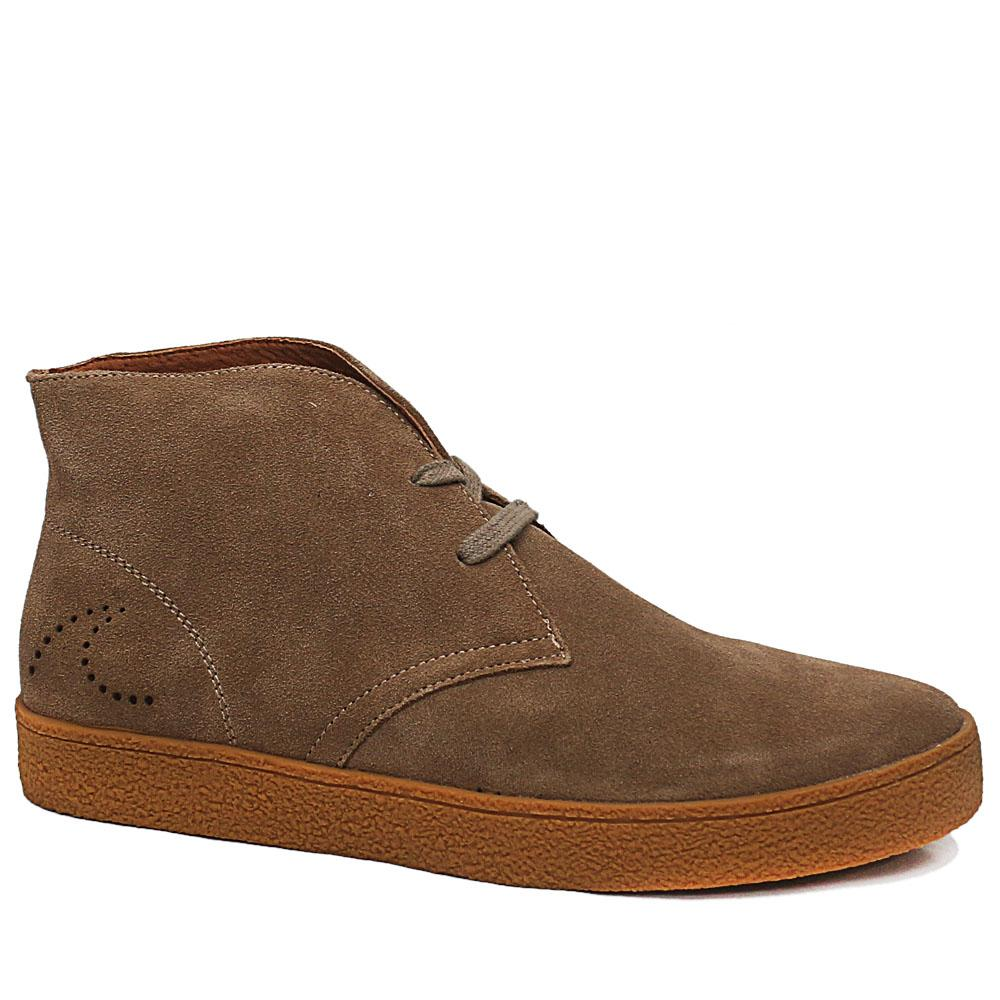 DSteps-Khaki-Salinas-Suede-Leather-Ankle-Shoe