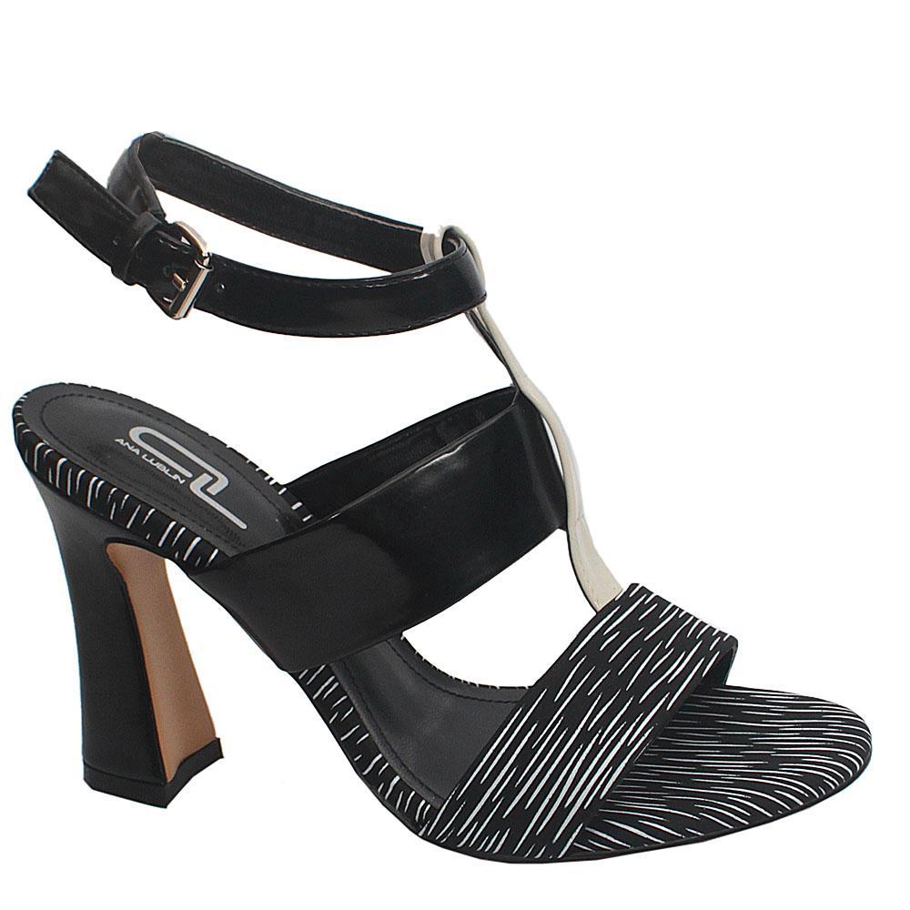 Sz 38 Lublin Monochrome Leather Heels