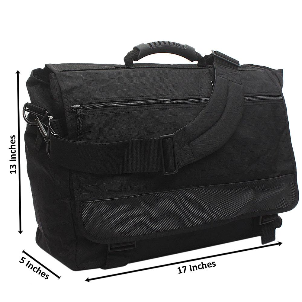 Black Mark & Spencer Fabric Briefcase