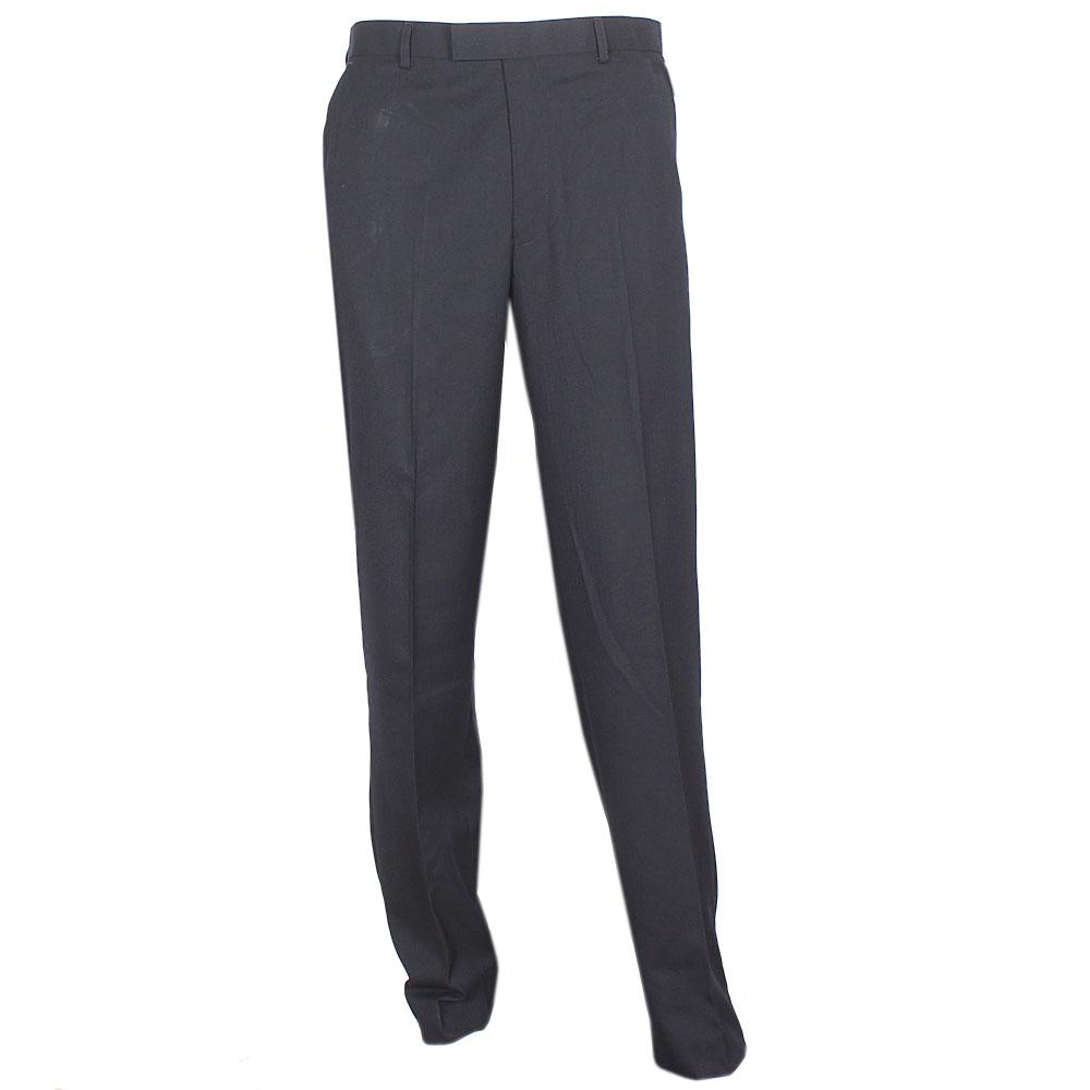 Navy Blue Men Pant Trouser Sz W44-L31
