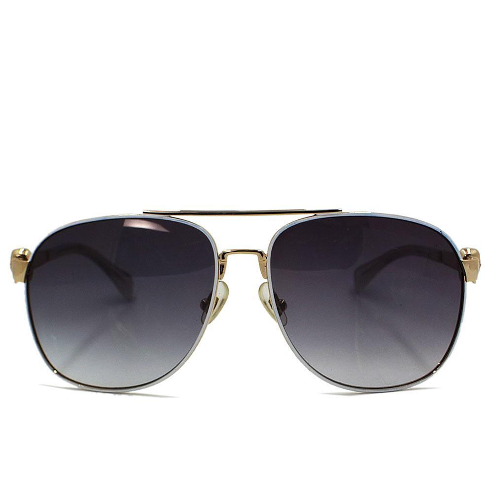 Gold Square FAviator Sunglasses