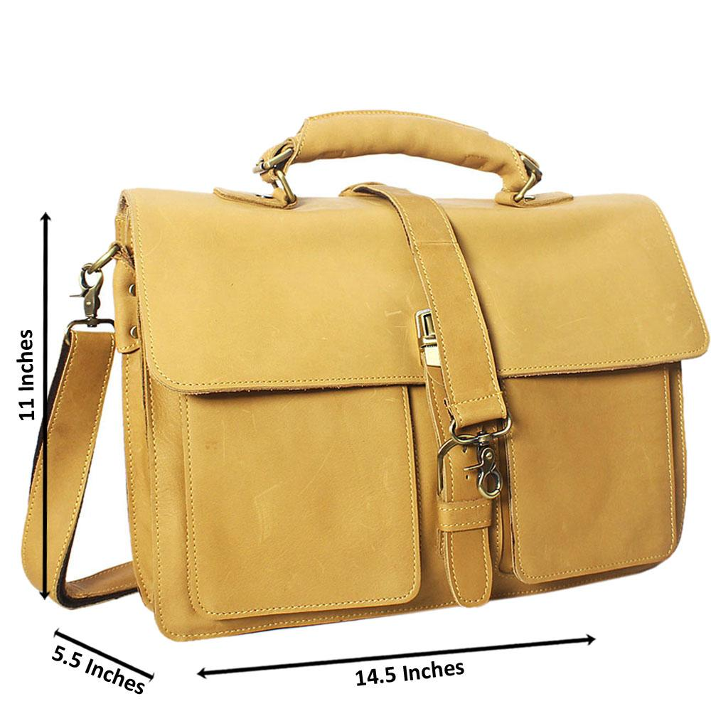 Caramel-Smooth-Leather-Briefcase