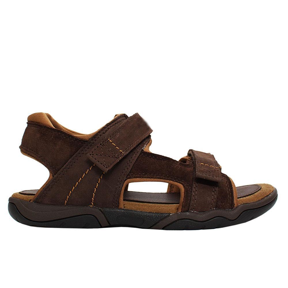 Brown Suede Leather Treakers