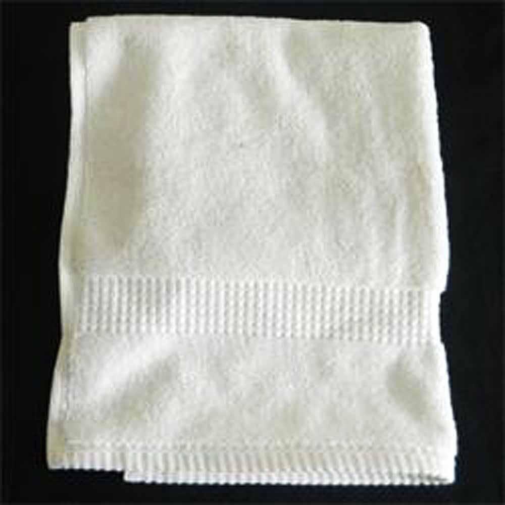 White Cotton Guest Towel 26 X 17cm