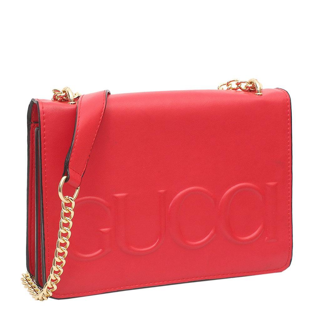 a9fb1b2f9fa Buy Gucci-Red-Leather-Crossbody-Bag - The Bag Shop Nigeria