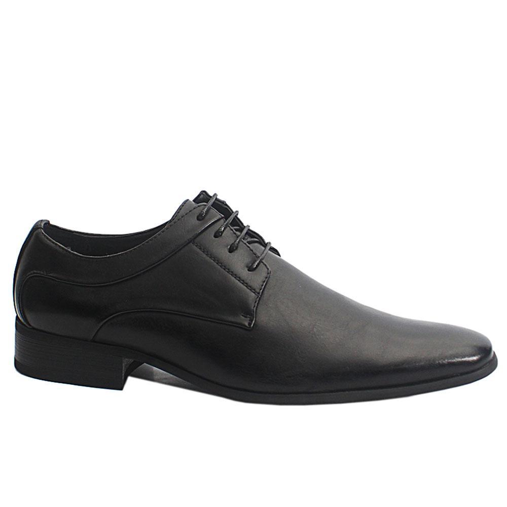 Black Harold Leather Men Shoe