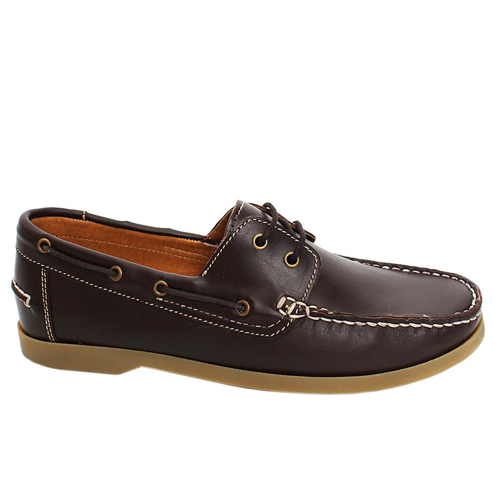 Brown Elon Felton Leather Men Casual Loafers