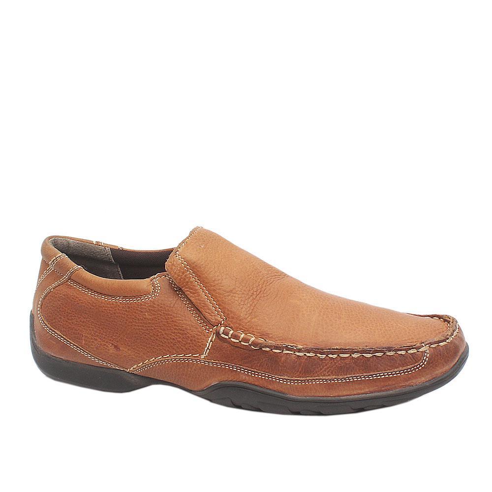 M&S Brown Leather Men Shoe Sz 44