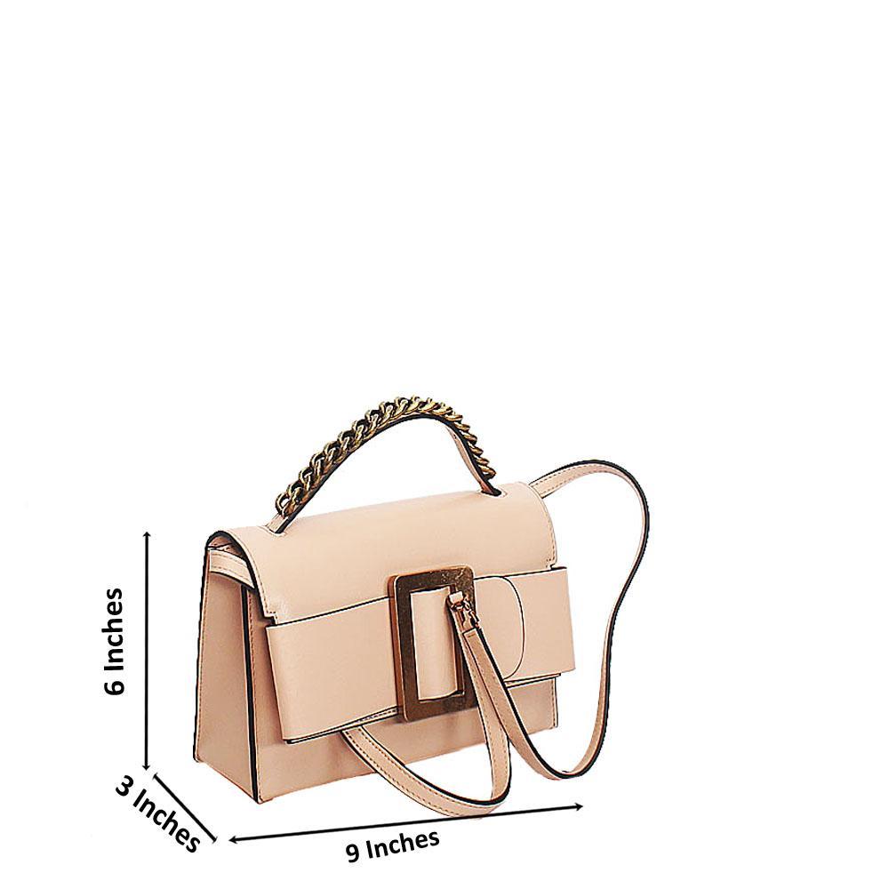 Khaki Deka Tuscany Leather Mini Handbag