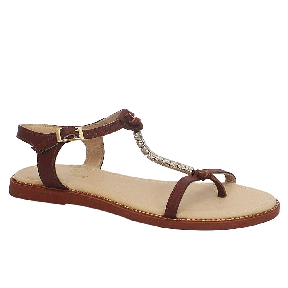 Carlo D Brown Summer Troll Sandals