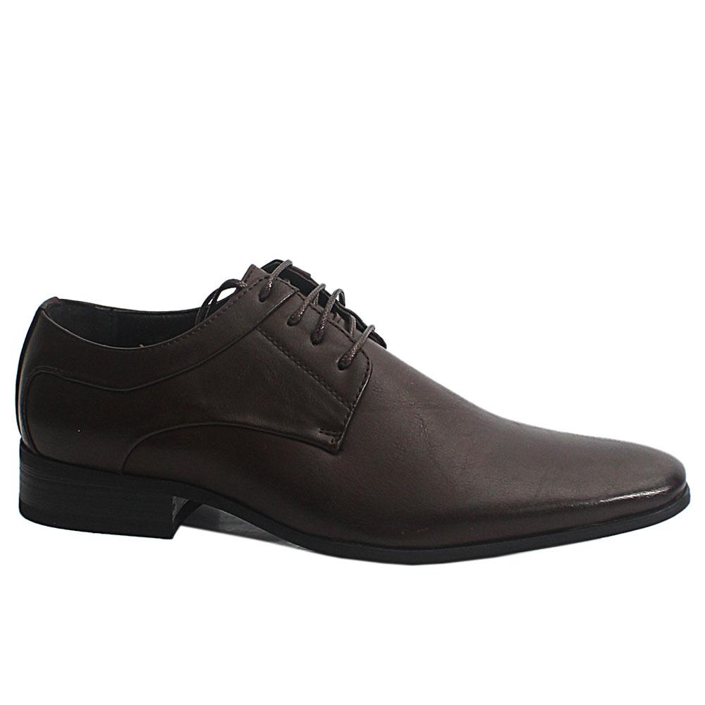 Brown Smith Leather Men Shoe