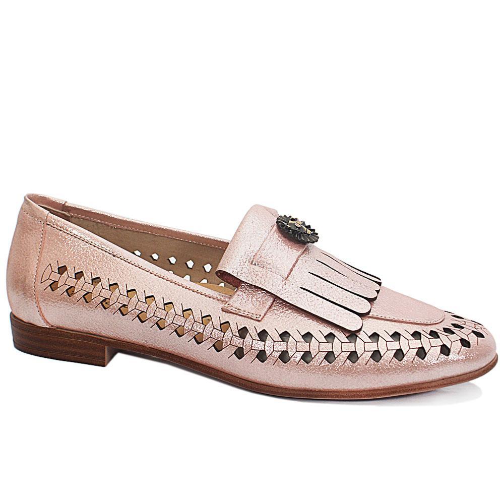 Pink Pari Flat Shoes