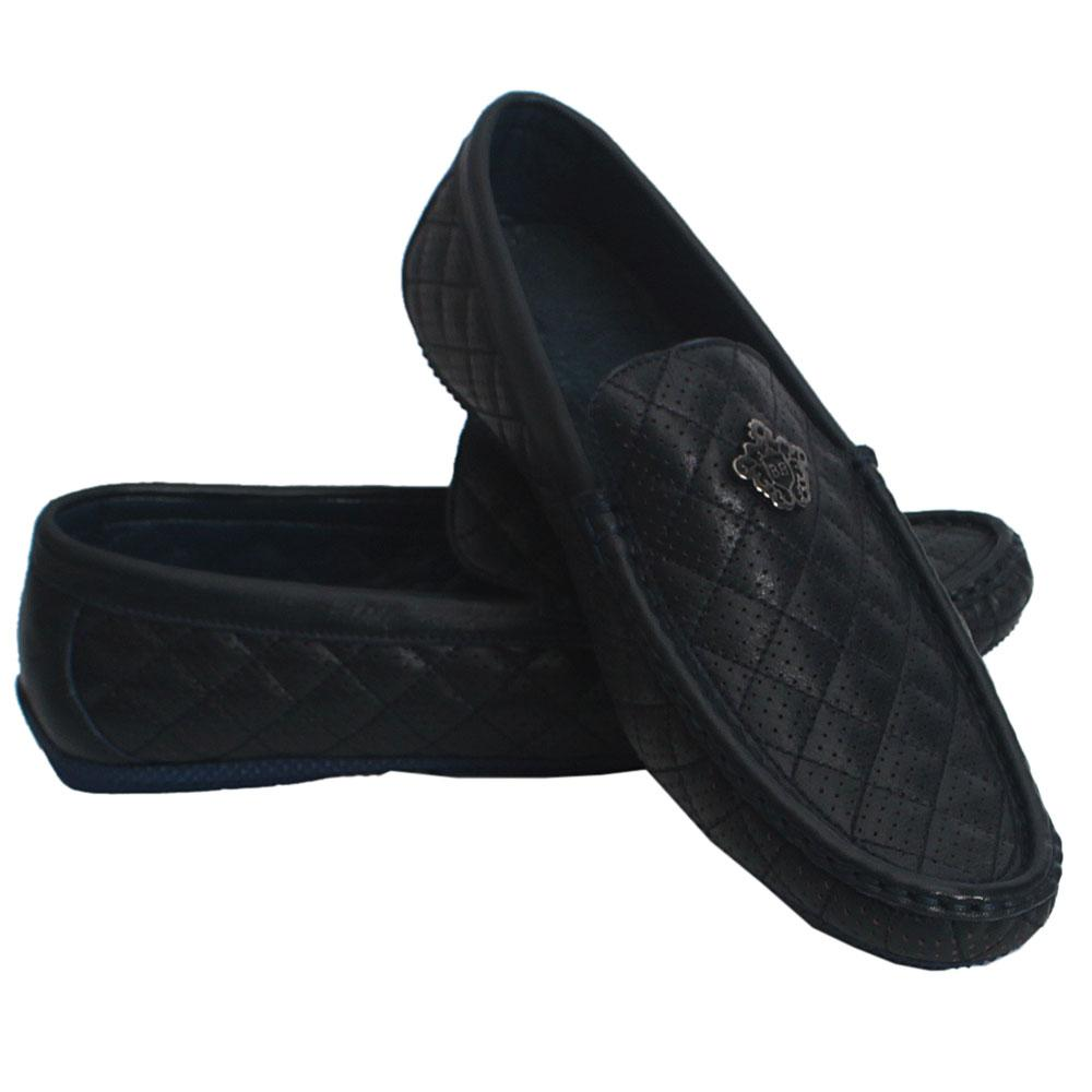Ultimate-Blue-Dotted-Cowhide-Leather-Loafer