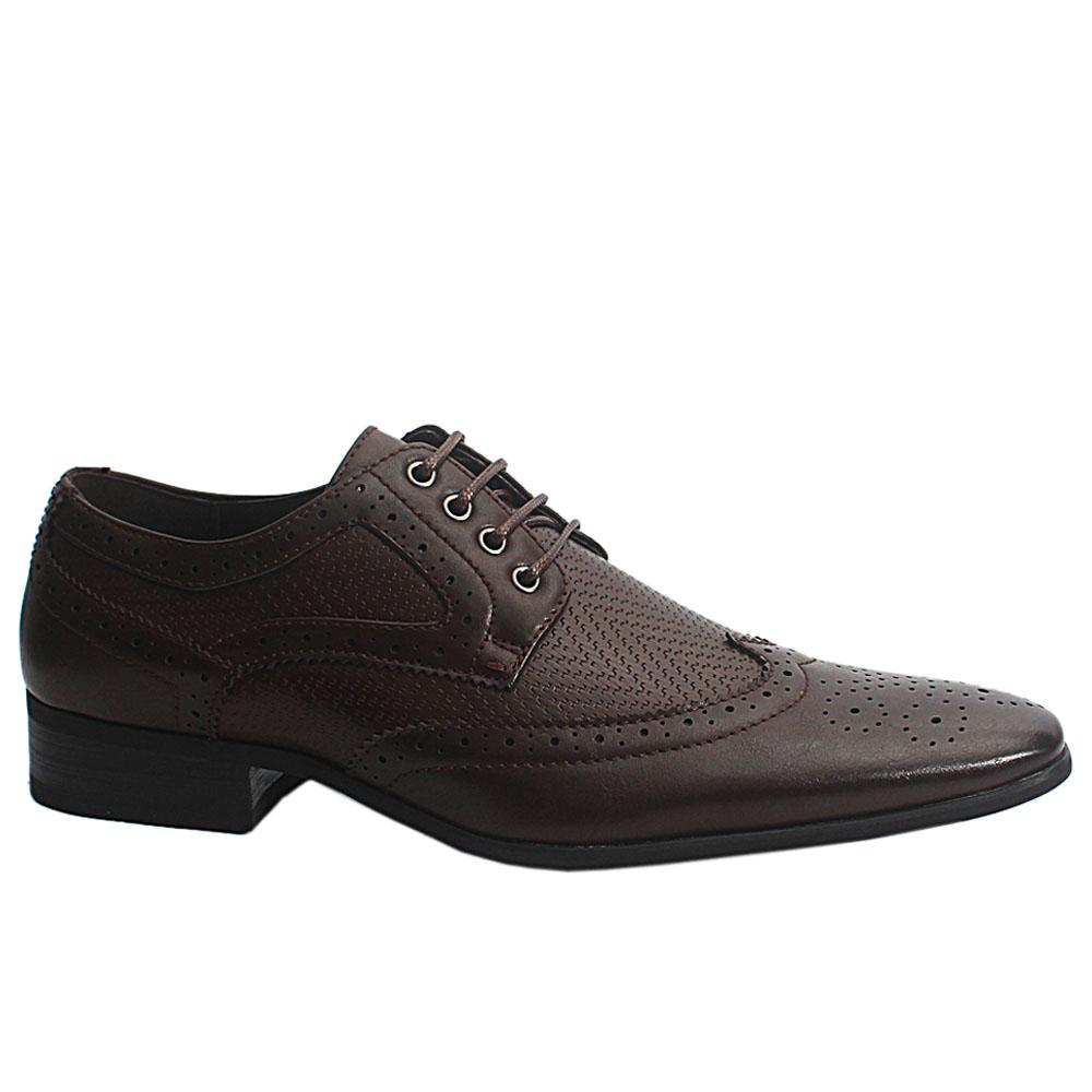 Coffee Brown Scott Leather Men Brogue