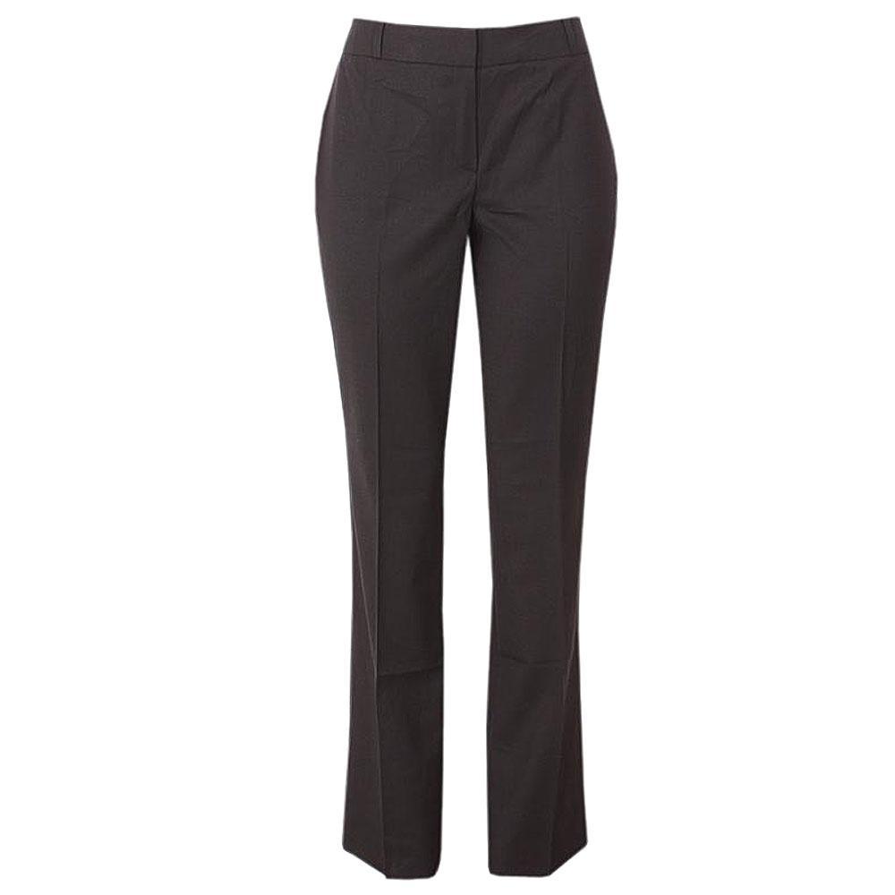 M  &  S Collection Black Italian Wool Ladies Bootleg Trouser-Uk 16-L 41