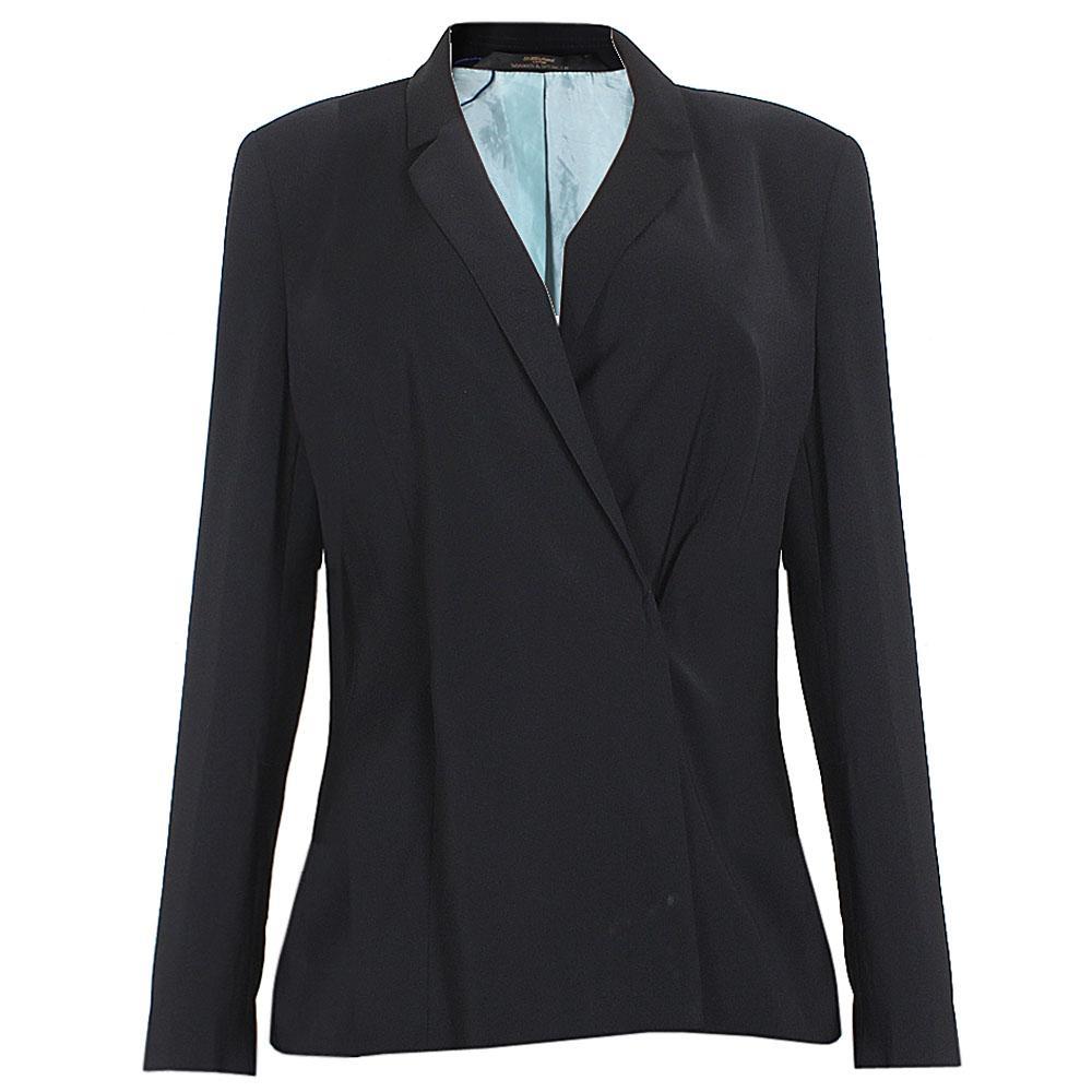 Black Ladies Longsleeve Jacket Sz UK 14
