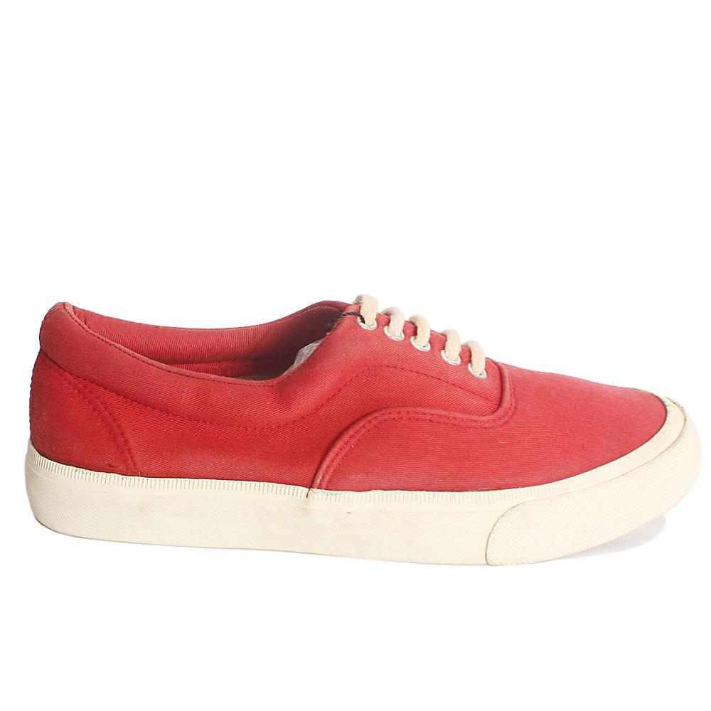 Red white Men Sneakers