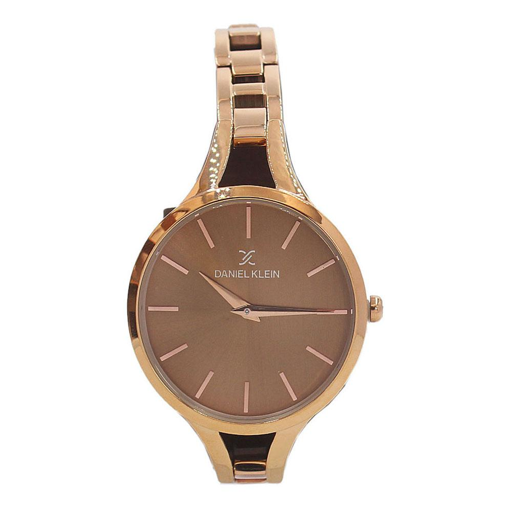 Daniel Klein Rose Gold Aurelio Stainless Steel Fashion Ladies Watch