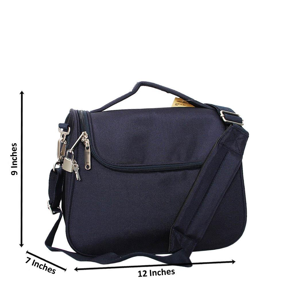 Navy Tom Jayden Fabric Wash Bag