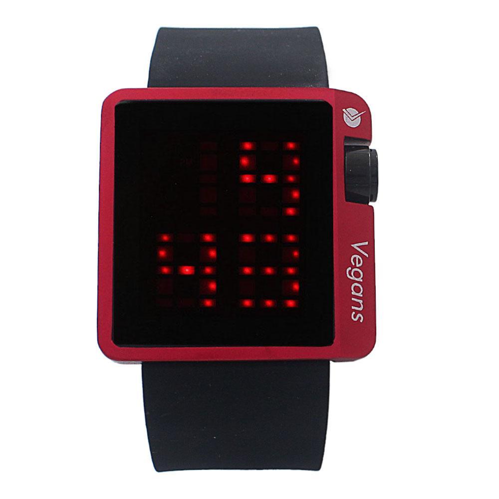 Black Rubber 3 ATM Water Resistant Digital Watch