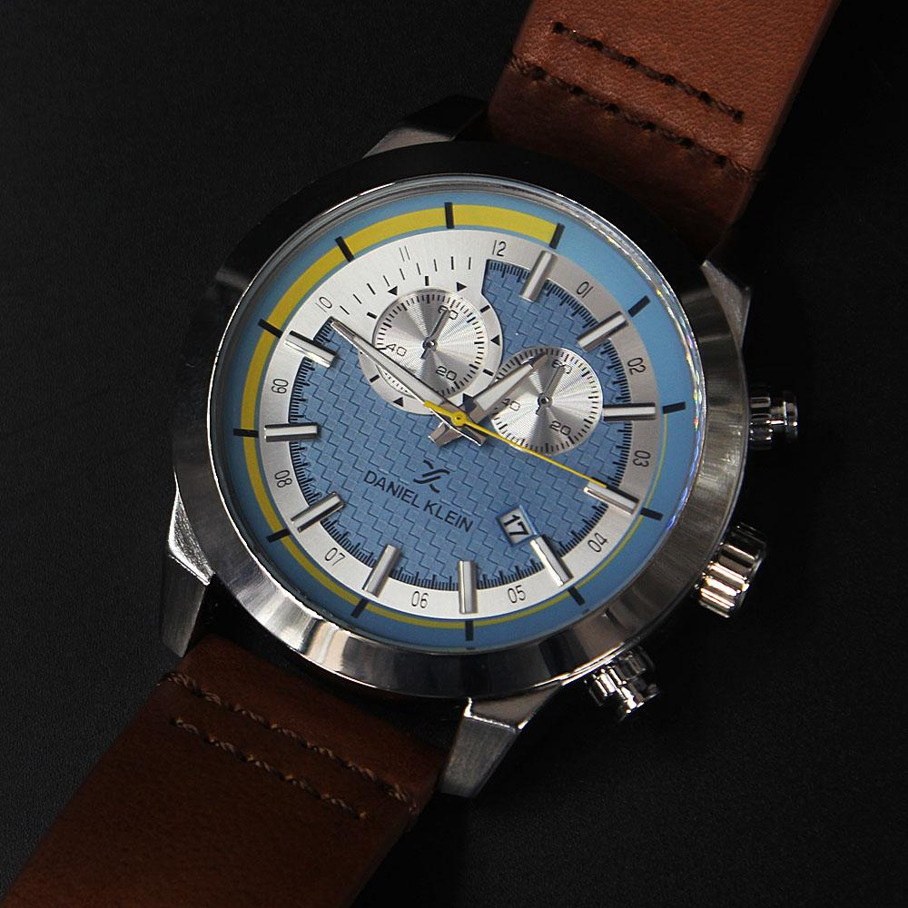 Facundo Brown Leather Fashion SeriesWatch