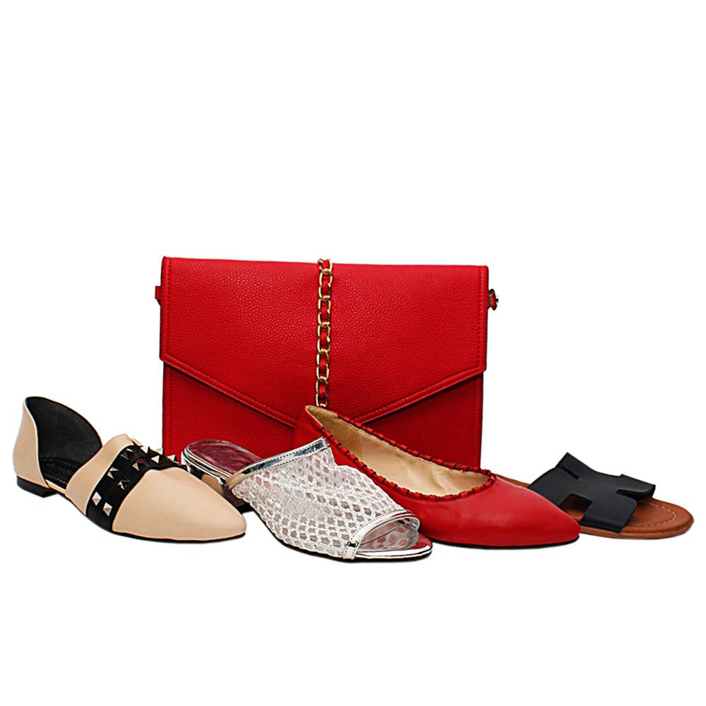 Size 37 Zoey Shoe and Bag Bundle